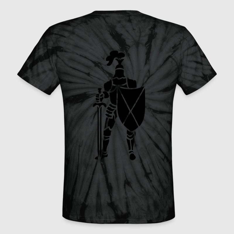 Knight medieval full armour by patjila2 T-Shirts - Unisex Tie Dye T-Shirt
