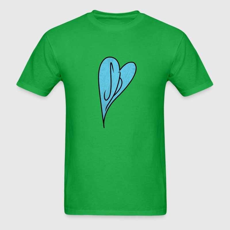 Scott Pilgrim T-Shirts: SP Heart Initials - Men's T-Shirt