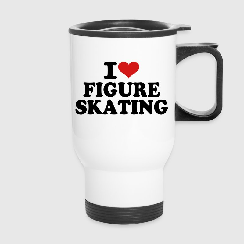 I love Figure Skating Accessories - Travel Mug