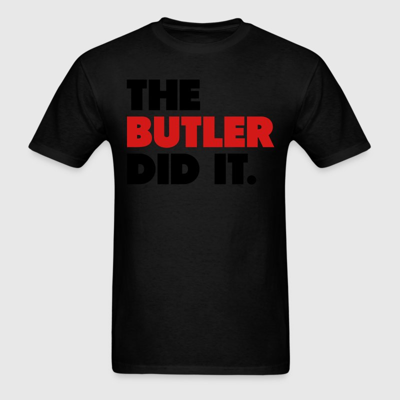 The Butler Did It Jimmy Butler Shirt T-Shirts - Men's T-Shirt