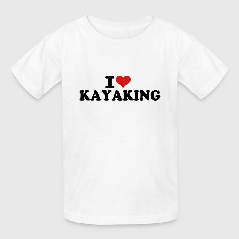 I love Kayaking Kids' Shirts - Kids' T-Shirt