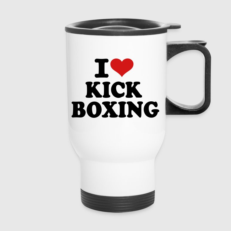 I love Kickboxing Accessories - Travel Mug