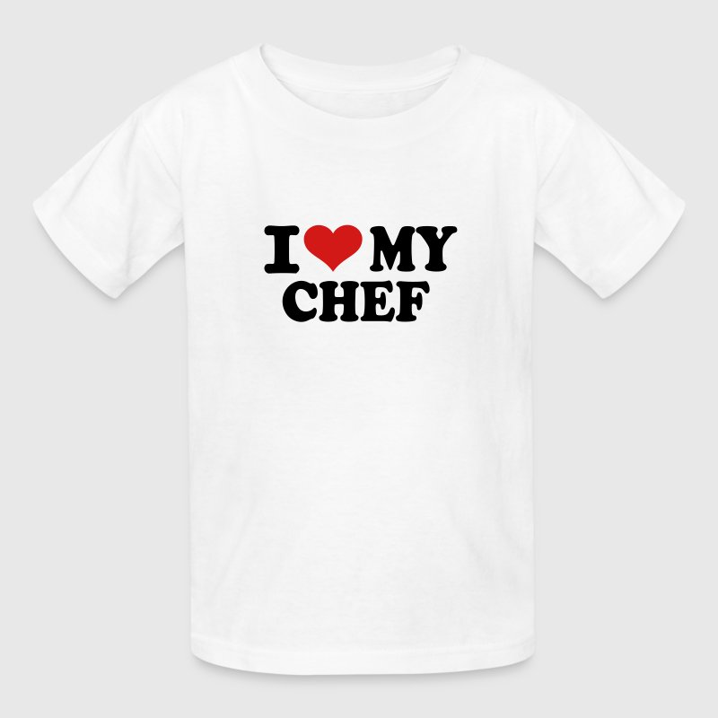 I love my Chef Kids' Shirts - Kids' T-Shirt