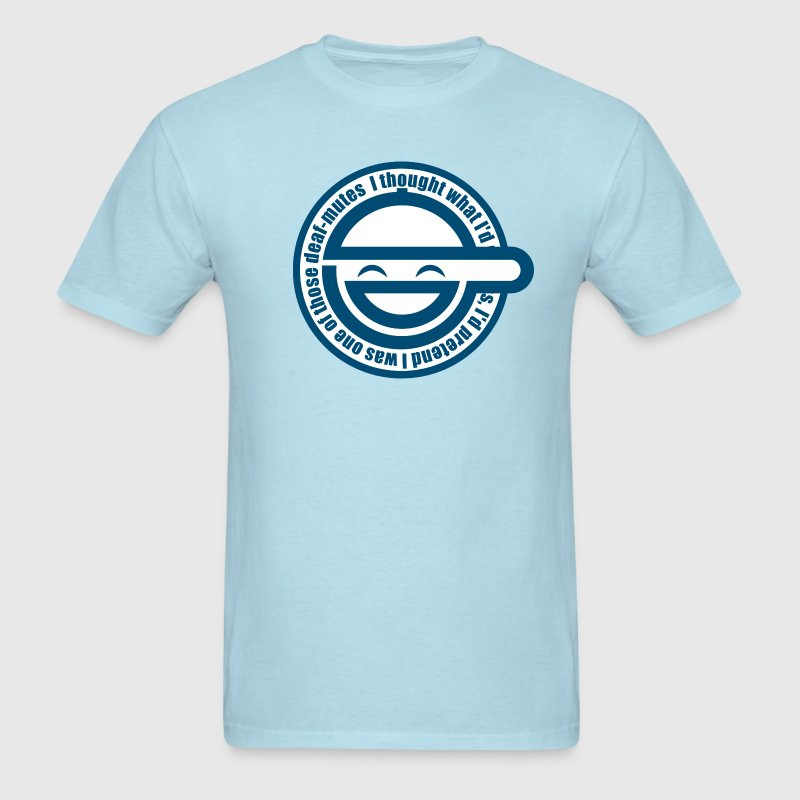 Laughing Man - Men's T-Shirt