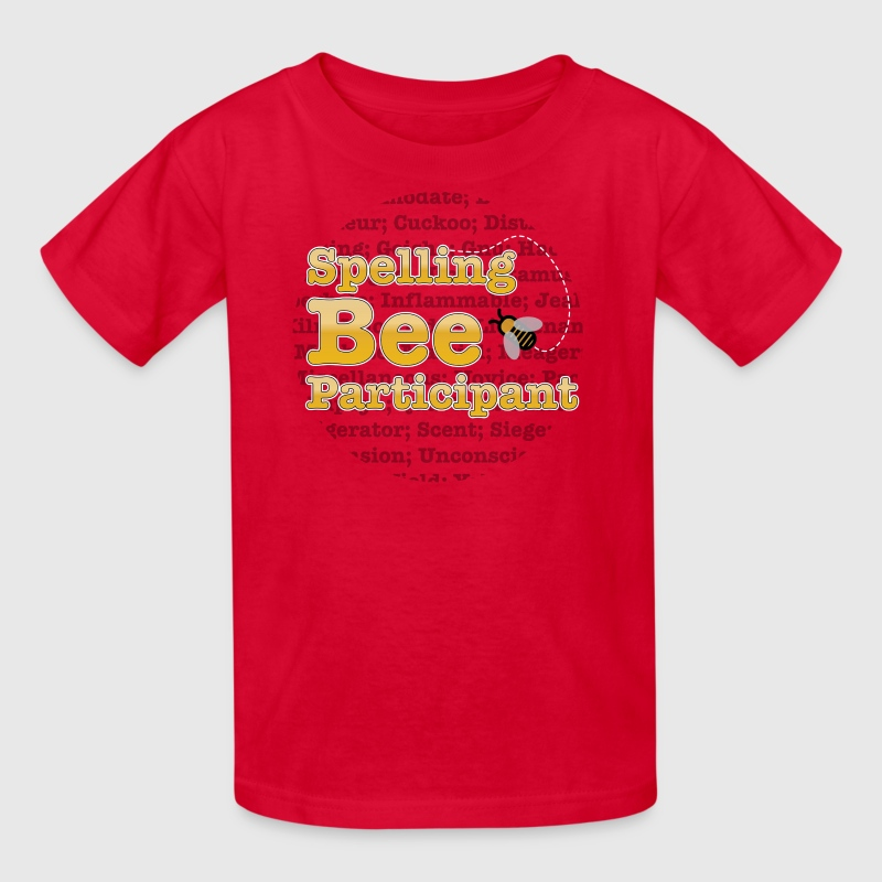 Spelling Bee - Participant  - Kids' T-Shirt