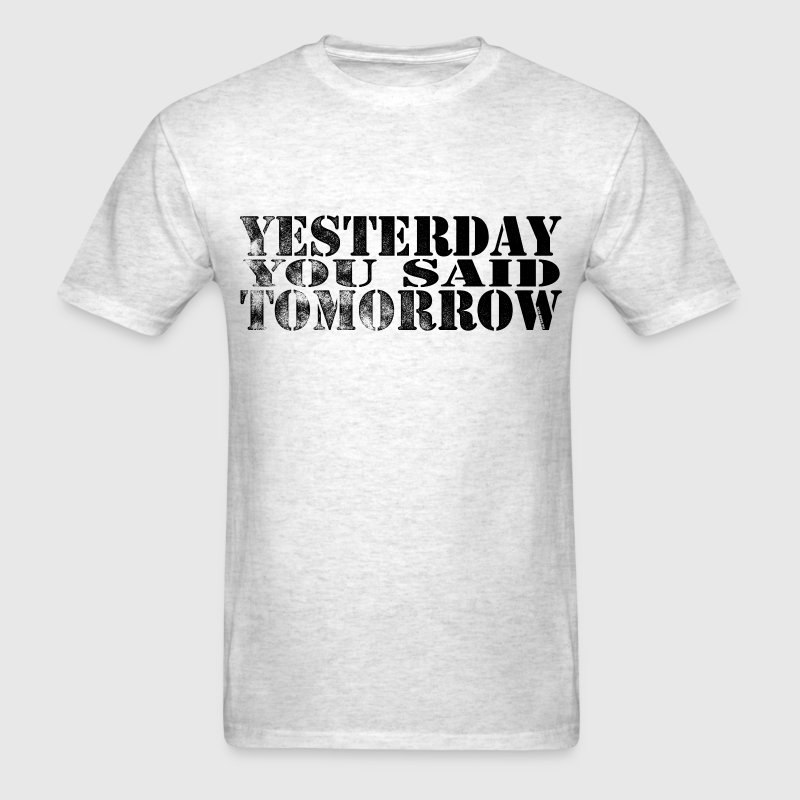 Tomorrow - Men's T-Shirt