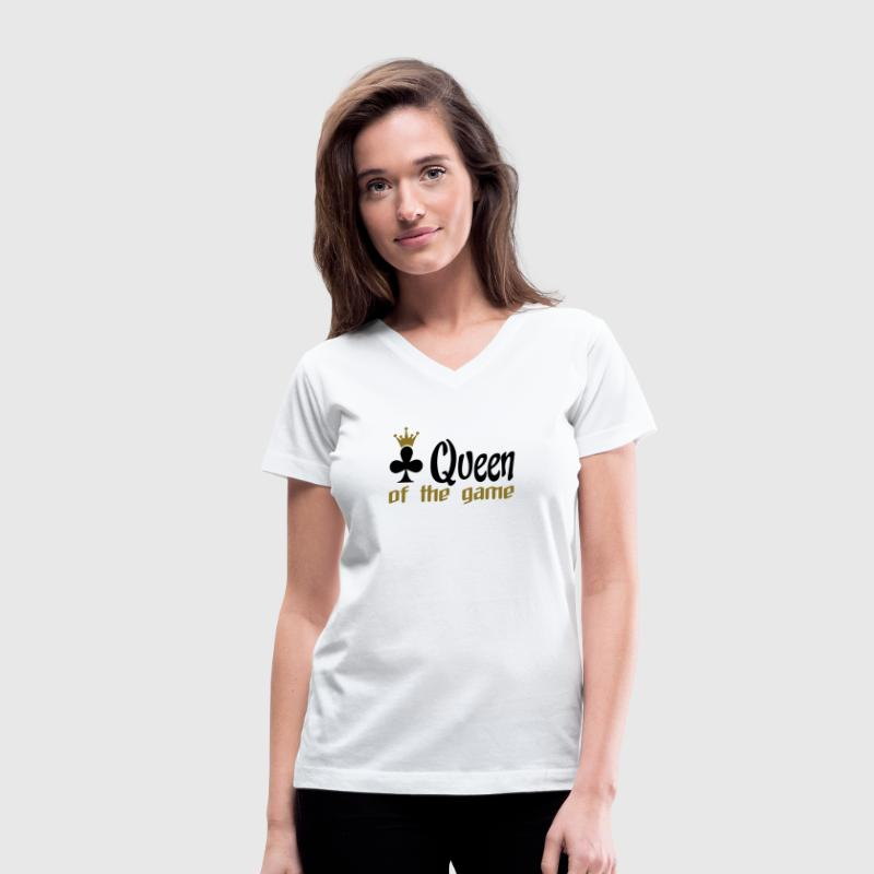 poker shirt - Women's V-Neck T-Shirt