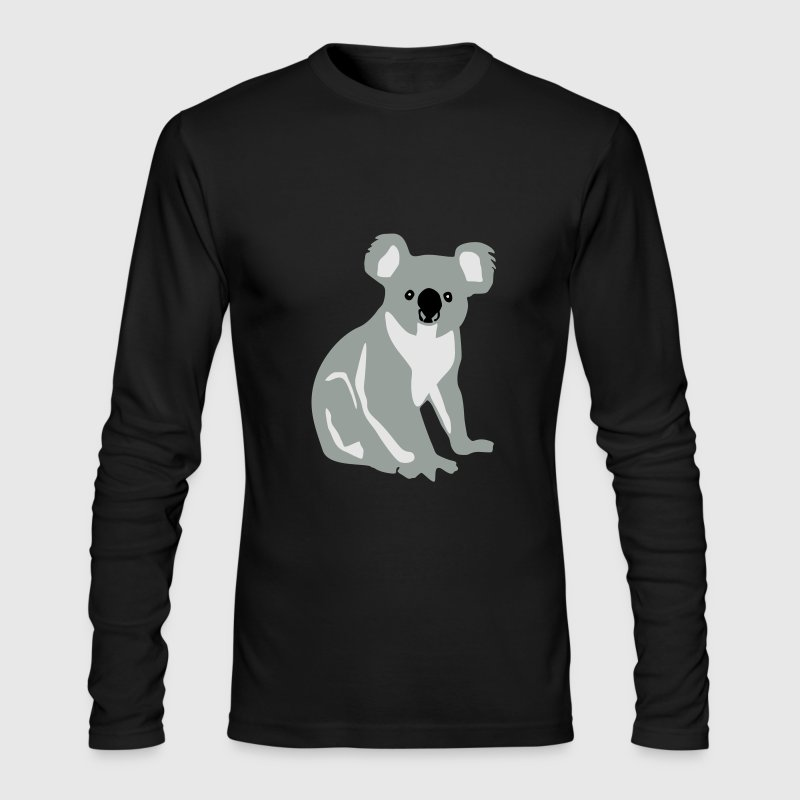 Koala bear Long Sleeve Shirts - Men's Long Sleeve T-Shirt by Next Level
