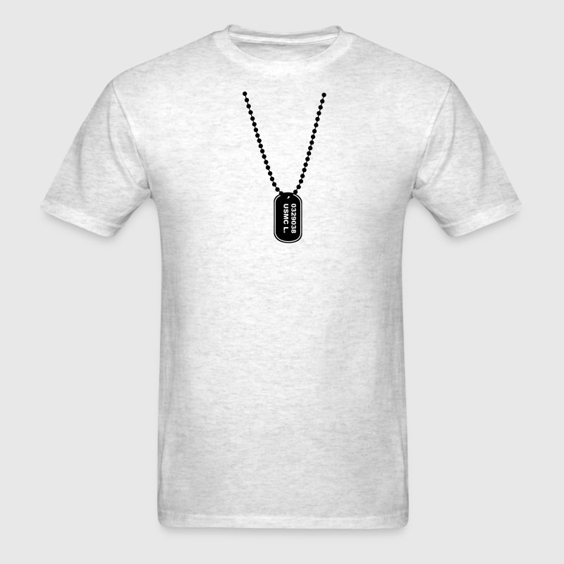 dog tag army T-Shirts - Men's T-Shirt