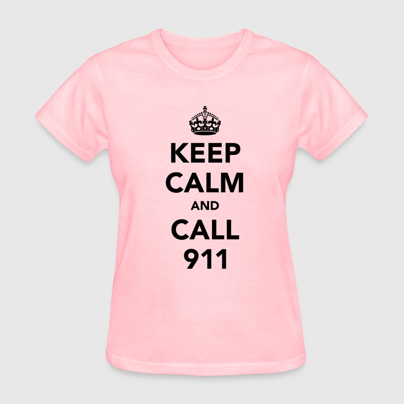 Keep calm and call 911 t shirt spreadshirt for Design 911 discount code