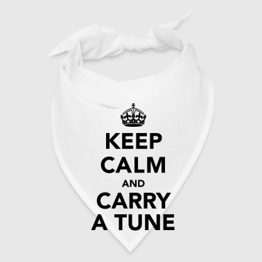Keep Calm and Carry a Tune Accessories - Bandana