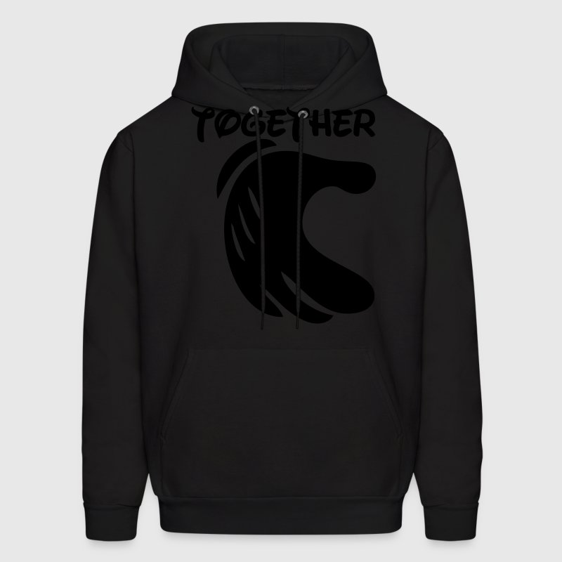 together forever Hoodies - Men's Hoodie