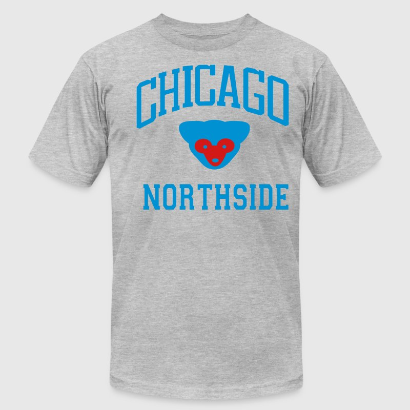CHICAGO NORTHSIDE T-Shirts - Men's T-Shirt by American Apparel