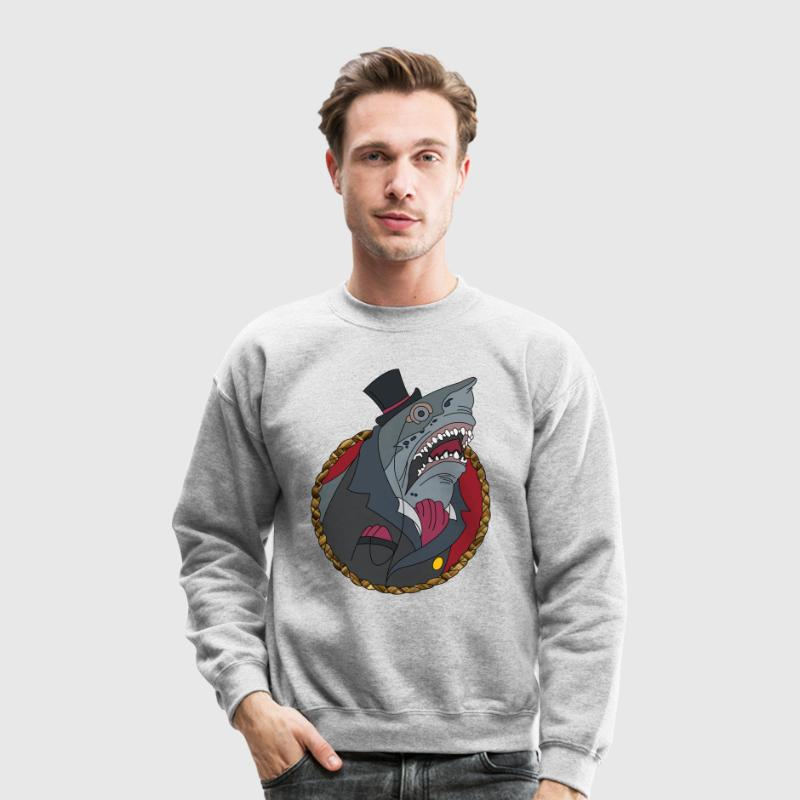 Shark In A Suit - Crewneck Sweatshirt