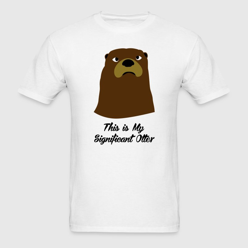 Significant Otter T-Shirts - Men's T-Shirt