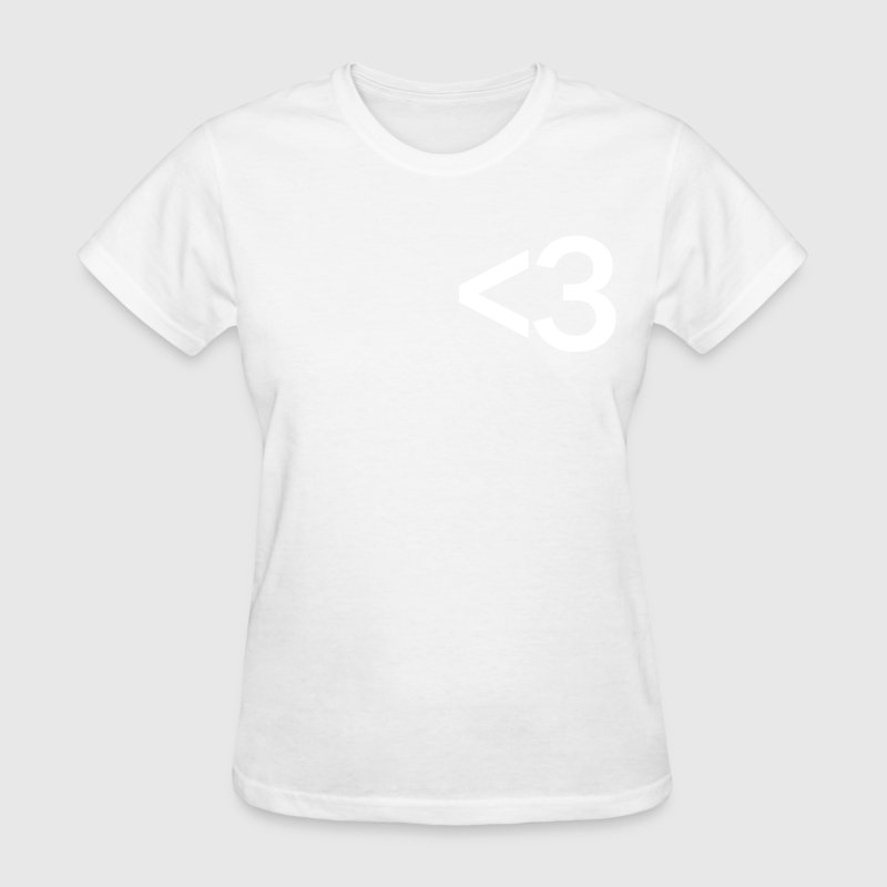 heart symbol emoticon - Women's T-Shirt