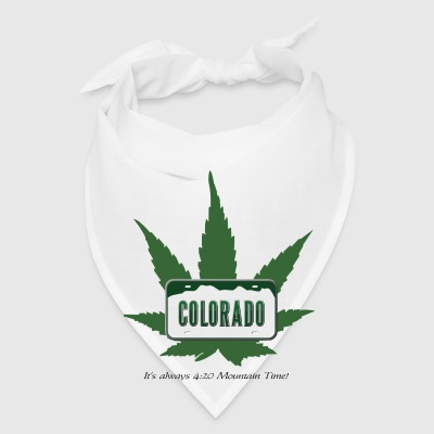 Colorado:  It's always 4:20 Mountain Time! Accessories - Bandana
