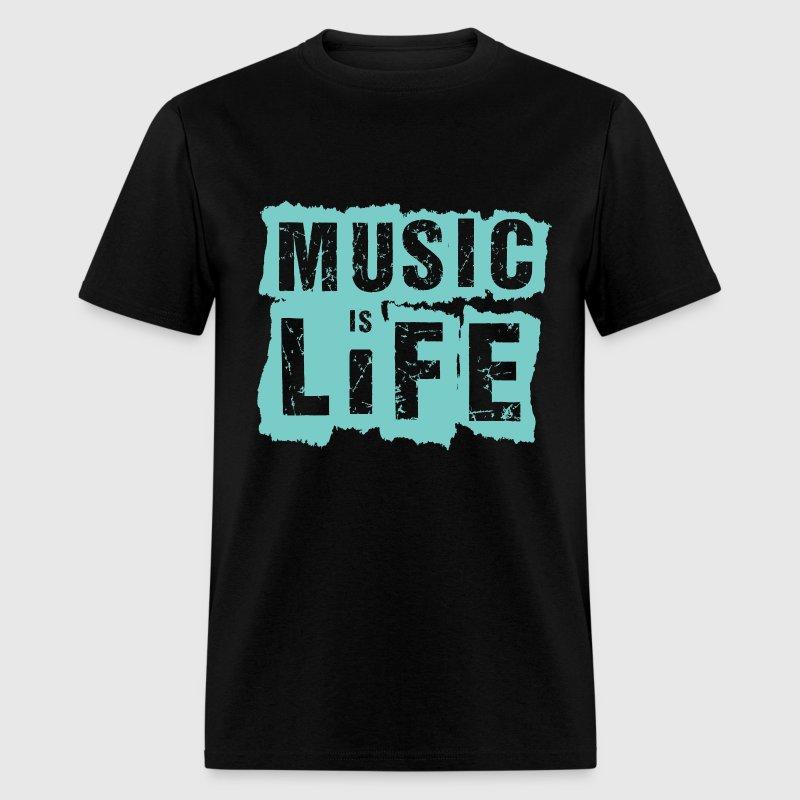 Music is life t shirt spreadshirt Music shirt design ideas