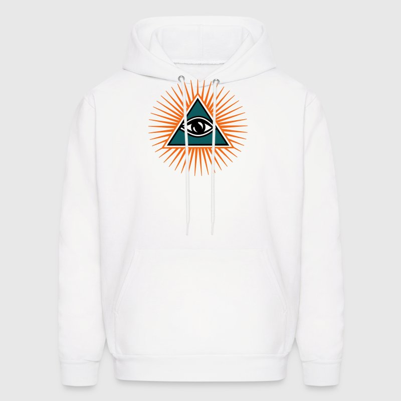all seeing eye 1-3 colors - symbol omniscience T-Shirts - Men's Hoodie