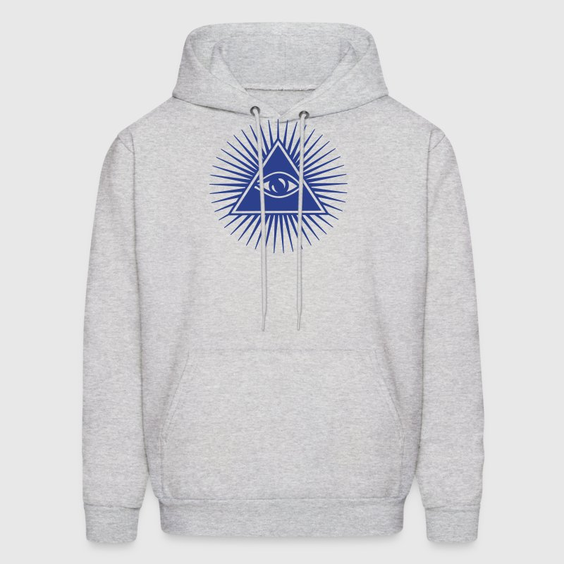 all seeing eye of god - symbol Supreme Being Hoodies - Men's Hoodie