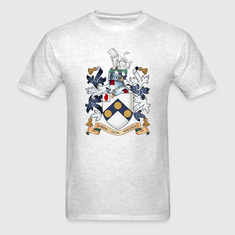 "James Bonds coat-of-arms and family motto ""The w - Men's T-Shirt"
