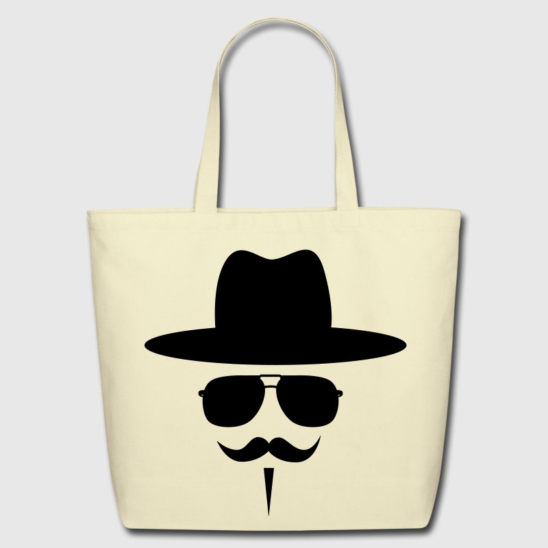 Moustache Bags  - Eco-Friendly Cotton Tote