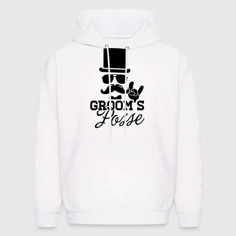 Groom Wedding Marriage Stag night bachelor party Hoodies - Men's Hoodie