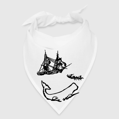 Moby Dick Illustration Other - Bandana
