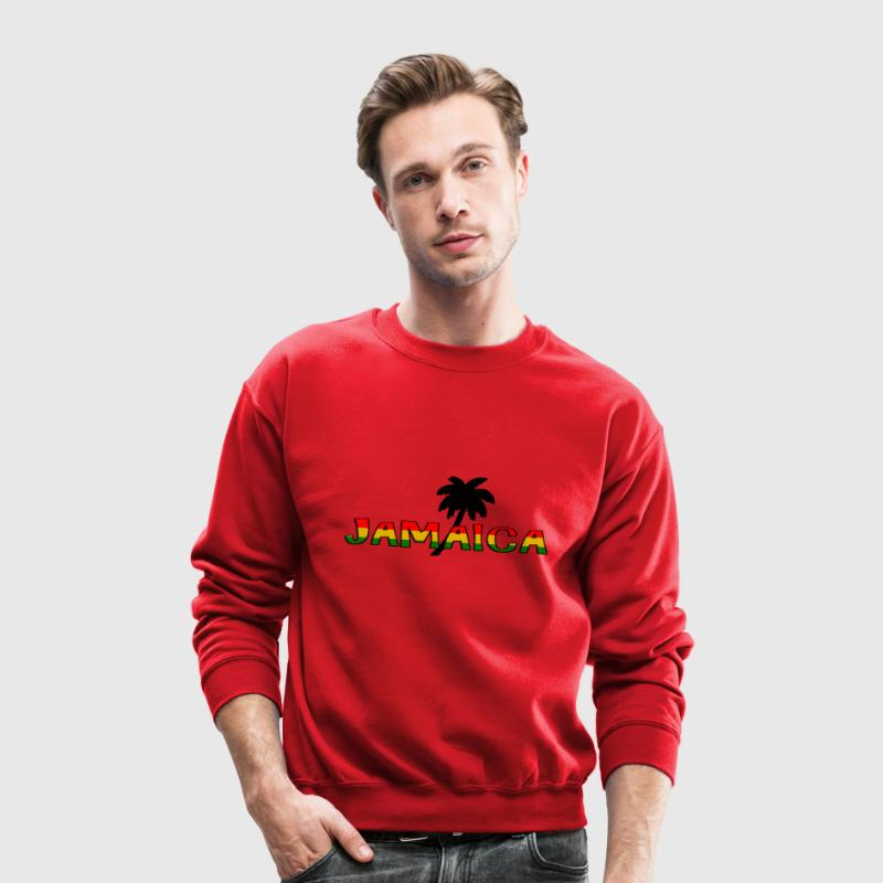 jamaica Long Sleeve Shirts - Crewneck Sweatshirt