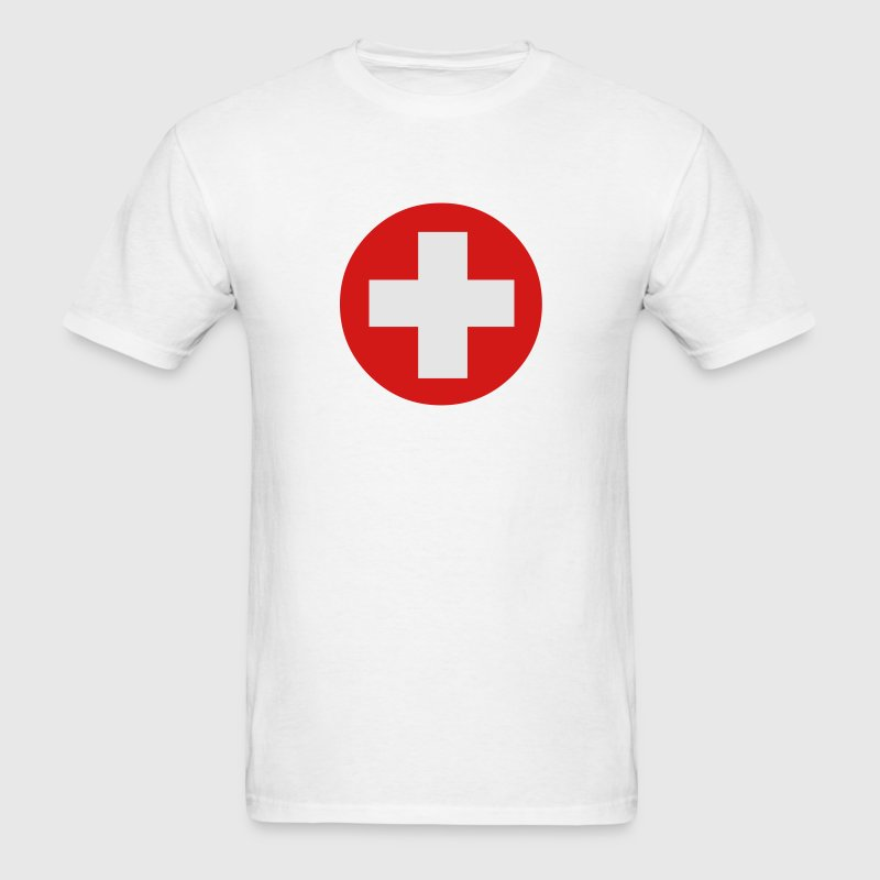Medical Cross Symbol T-Shirts - Men's T-Shirt