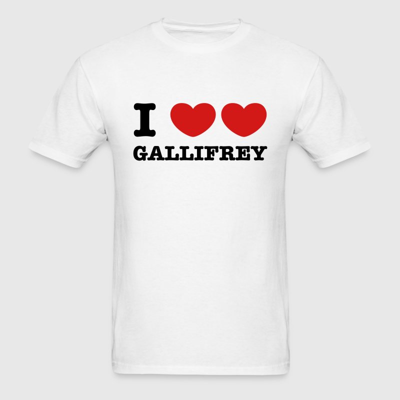 I Love Love Gallifrey T-Shirts - Men's T-Shirt