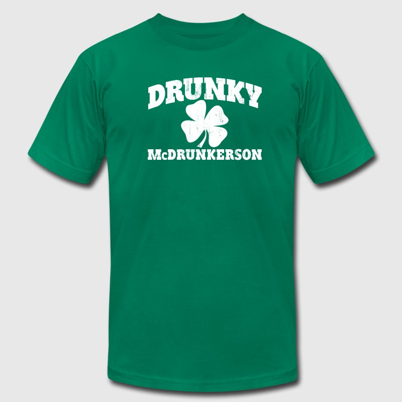 DRUNKY McDRUNKERSON T-Shirts - Men's Fine Jersey T-Shirt