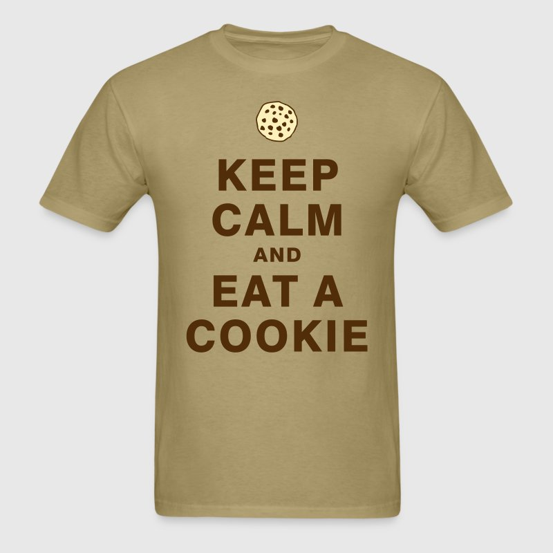 KEEP CALM AND EAT A COOKIE T-Shirts - Men's T-Shirt
