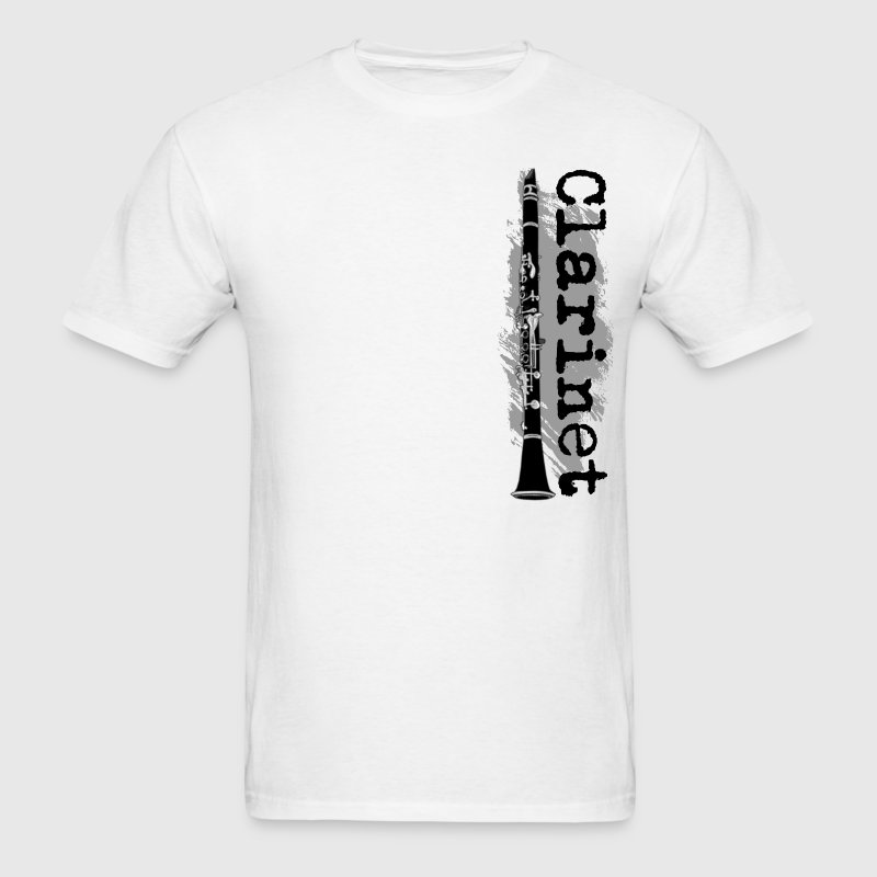 Clarinet Vertical Design - Men's T-Shirt