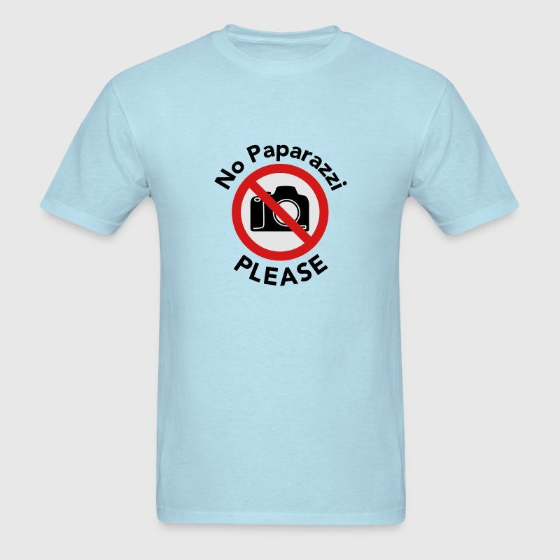 No Paparazzi Please - Almost Famous T-Shirts - Men's T-Shirt