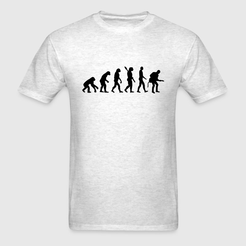 Evolution Rock musician T-Shirts - Men's T-Shirt