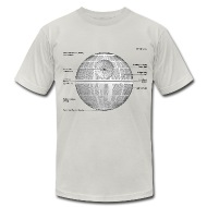 death star diagram men s t shirt by american apparel death star diagram t shirt spreadshirt shirt diagram at mifinder.co