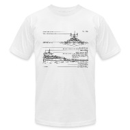 star destroyer diagram men s t shirt by american apparel star destroyer diagram t shirt spreadshirt shirt diagram at couponss.co