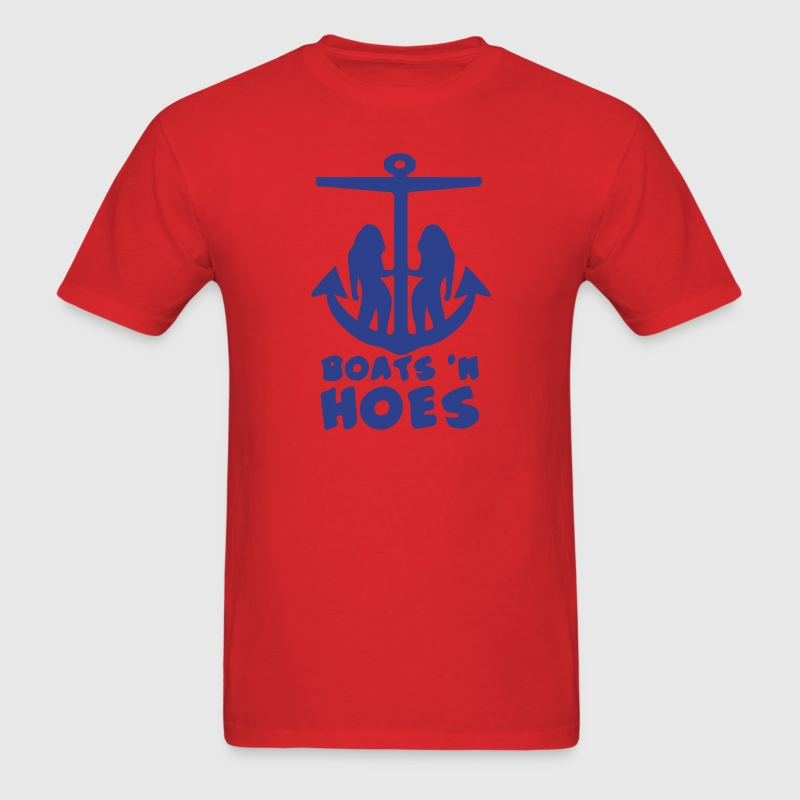 boats and hoes shirt - Men's T-Shirt