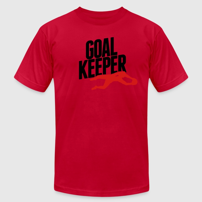 goalkeeper T-Shirts - Men's Fine Jersey T-Shirt