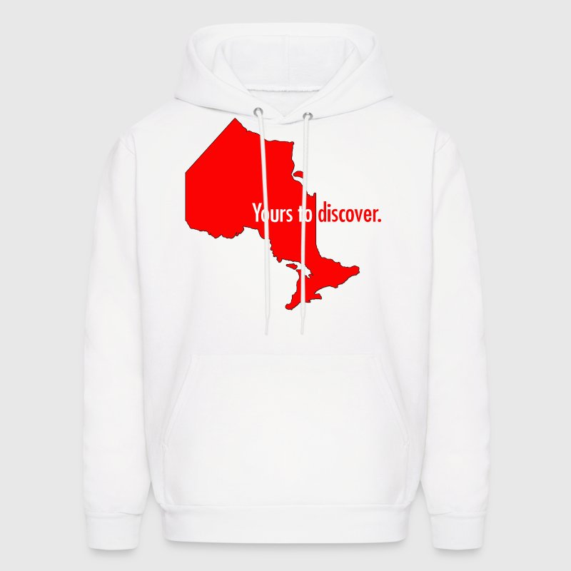 Ontario: Yours to discover Hoodies - Men's Hoodie