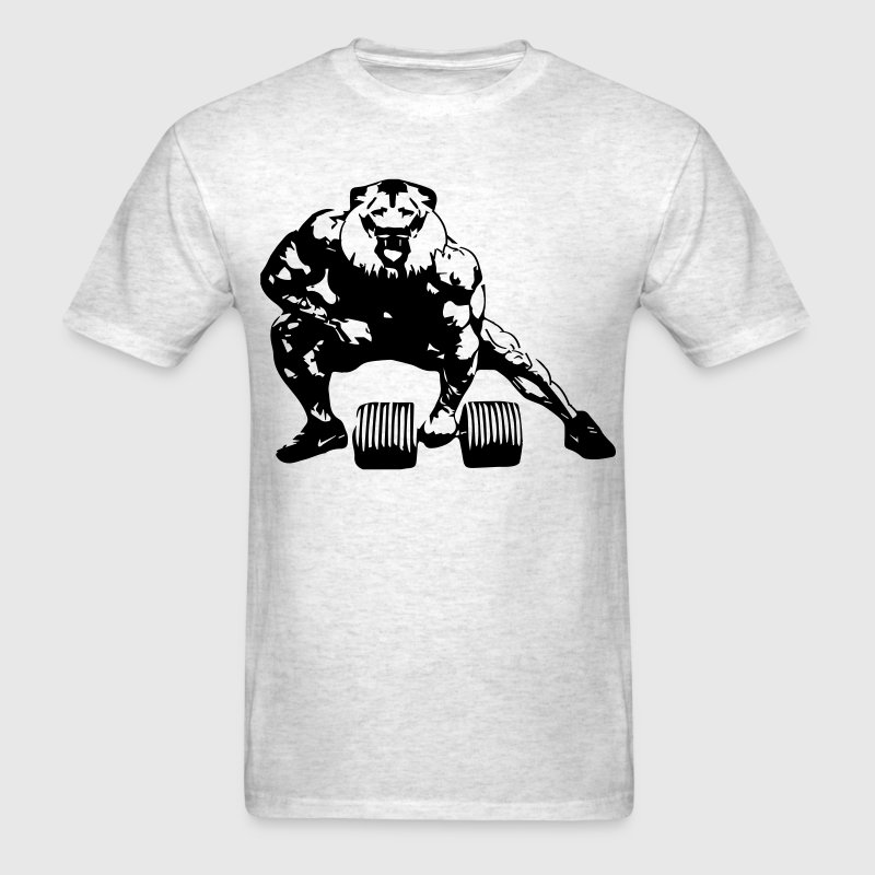 Lifting Lion - Men's T-Shirt