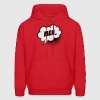 Like a cool story meh. comic Speech balloon cloud Hoodies - Men's Hoodie