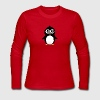Cute penguin cartoon Long Sleeve Shirts - Women's Long Sleeve Jersey T-Shirt