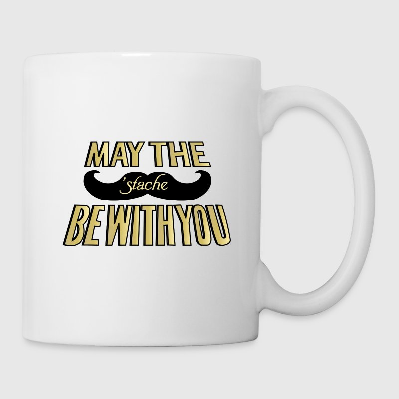 May the Stache be with you Bottles & Mugs - Coffee/Tea Mug