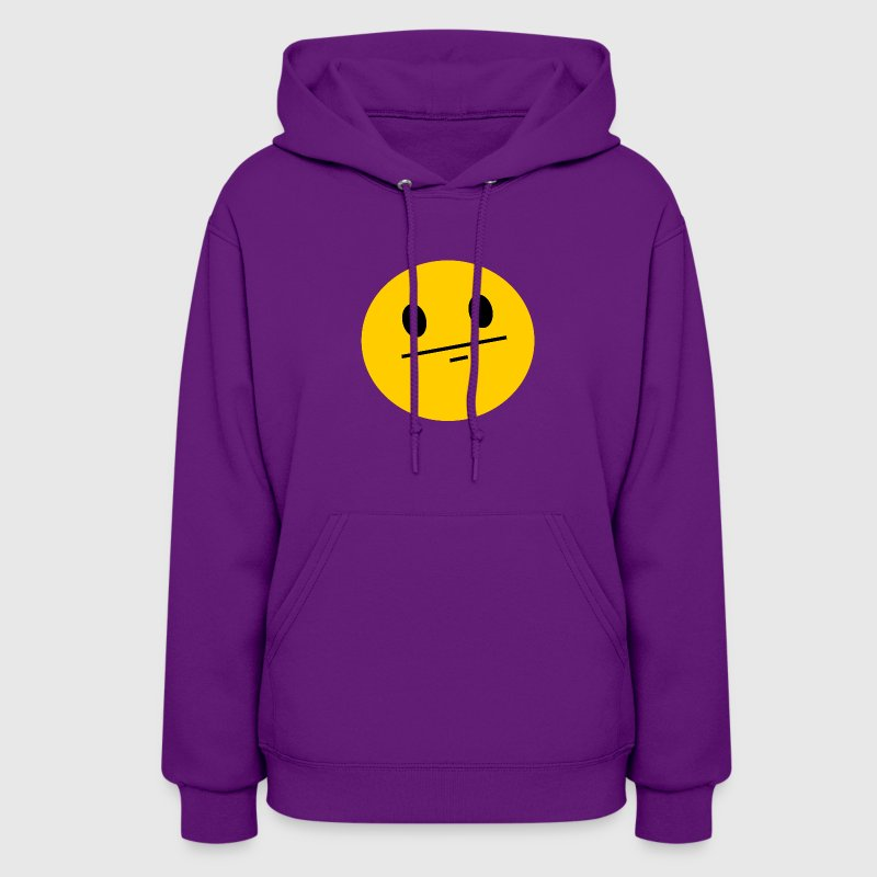 Poker Face Smiley Hoodies - Women's Hoodie