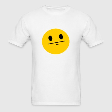 Poker Face Smiley Buttons - Men's T-Shirt