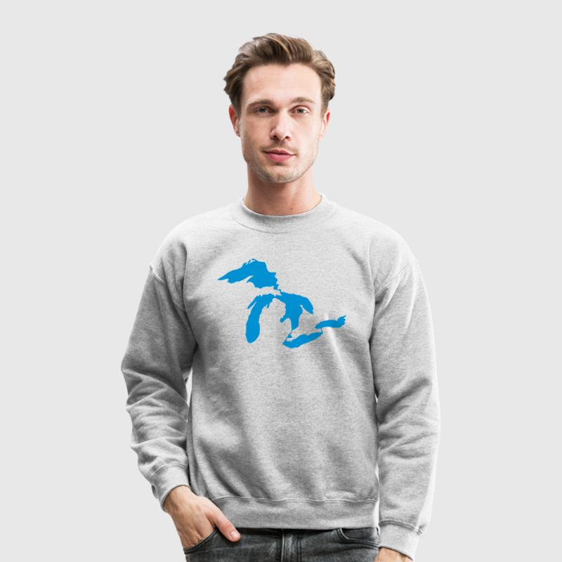 Great Lakes Long Sleeve Shirts - Crewneck Sweatshirt