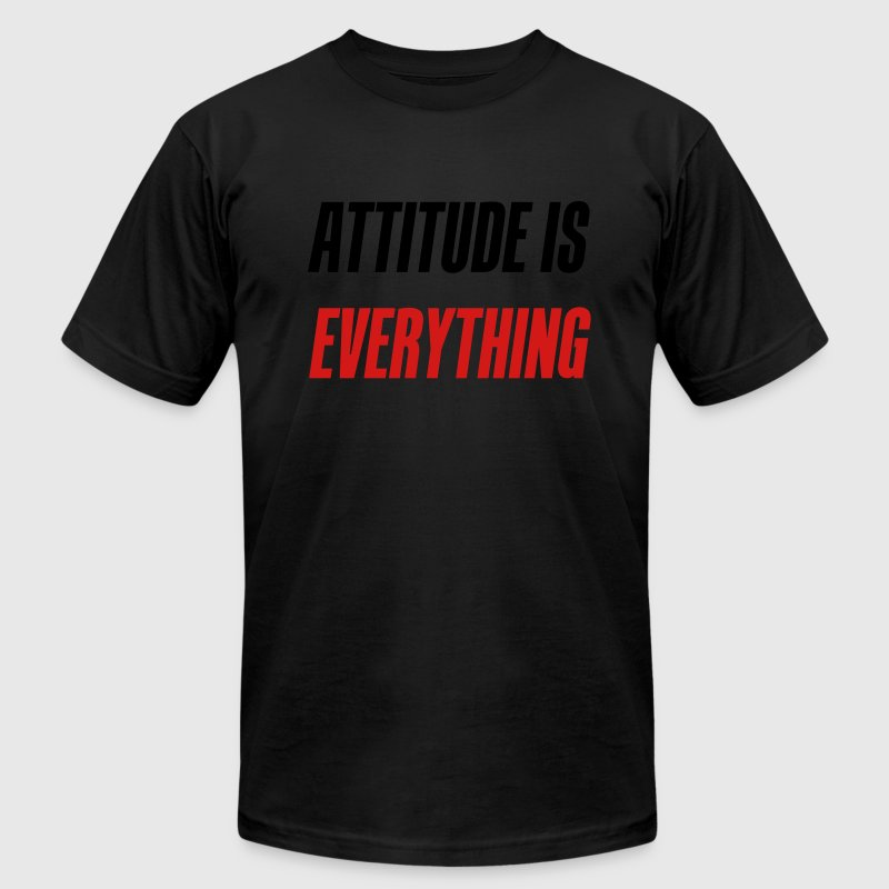 Attitude is everything - Men's T-Shirt by American Apparel
