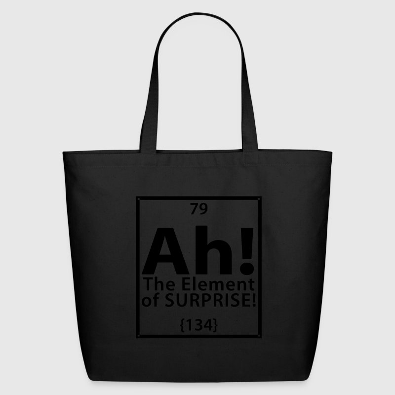 Ah! The Element of Surprise Bags  - Eco-Friendly Cotton Tote